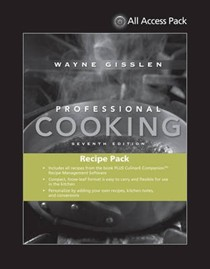 All Access Pack Recipes to Accompany Professional Cooking 7th Edition