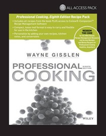 All Access Pack Recipes to Accompany Professional Cooking, Eighth Edition