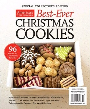 Americas Test Kitchen Special Issue BestEver Christmas Cookies