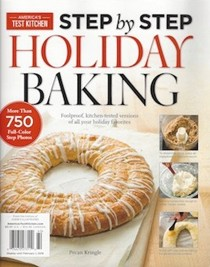 America's Test Kitchen Special Issue: Step by Step Holiday Baking (2015): Foolproof, Kitchen-Tested Versions of All Your Holiday Favorites