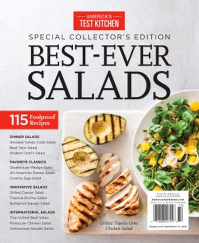 Americau0027s Test Kitchen Special Issue: Best Ever Salads (2016): Special  Collectoru0027s Edition
