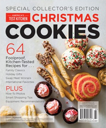 America's Test Kitchen Special Issue: Christmas Cookies (2016): Special Collector's Edition