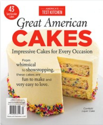 America's Test Kitchen Special Issue: Great American Cakes (2017)