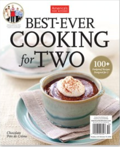 America's Test Kitchen Special Issue: Best-Ever Cooking for Two (2017)