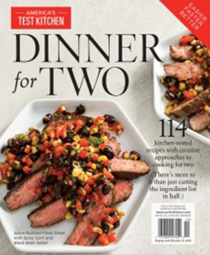 America's Test Kitchen Special Issue: Dinner for Two (2018): Special Collector's Edition
