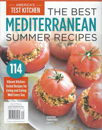 America's Test Kitchen Special Issue: The Best Mediterranean Summer Recipes (2020): 114 Vibrant Kitchen-Tested Recipes for Living and Eating Well Every Day