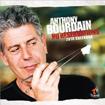 Anthony Bourdain Calendar: No Reservations