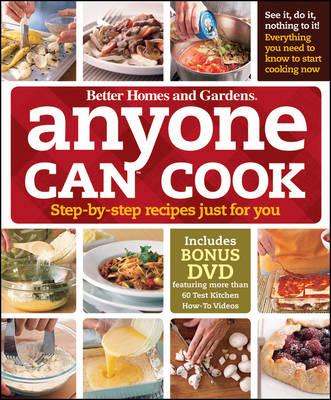 Anyone Can Cook DVD Edition: Step-by-Step Recipes Just for You