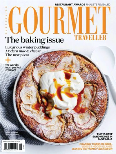 Australian Gourmet Traveller Magazine, August 2017: The Baking Issue