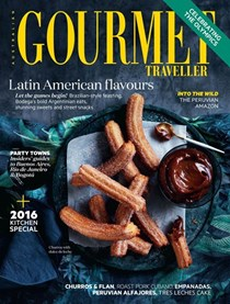 Australian Gourmet Traveller Magazine, July 2016