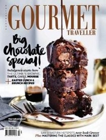 Australian Gourmet Traveller Magazine, March 2016: Big Chocolate Special