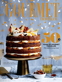 Australian Gourmet Traveller Magazine, November 2016: 50th Birthday Issue