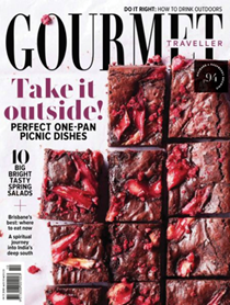 Australian Gourmet Traveller Magazine, October 2018