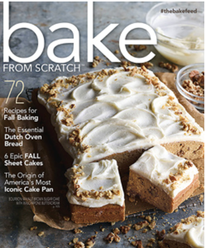 Bake from Scratch Magazine, Sep/Oct 2018