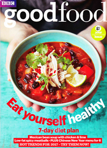 BBC Good Food Magazine, January 2017