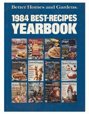 Better Homes and Gardens 1984 Best-Recipes Yearbook