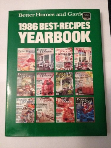 Better Homes and Gardens 1986 Best-Recipes Yearbook