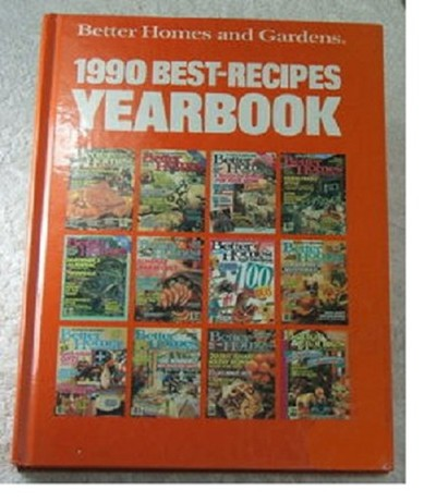 Better Homes and Gardens 1990 Best-Recipes Yearbook