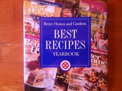 Better Homes and Gardens: Best Recipes Yearbook