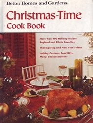 Better Homes and Gardens Christmas-Time Cook Book