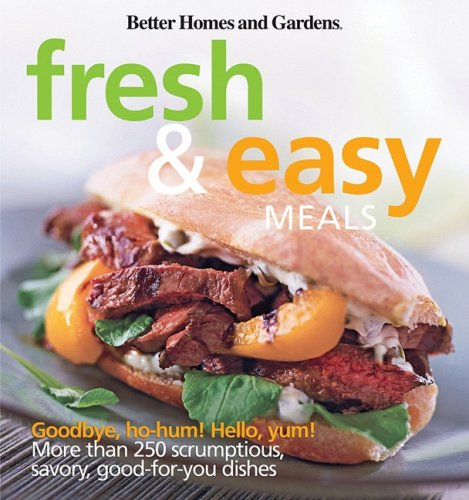 Better Homes and Gardens Fresh & Easy Meals