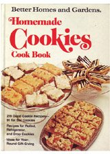 Better Homes and Gardens Homemade Cookies Cook Book