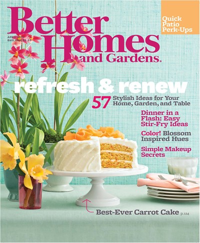 better homes and gardens magazine april 2013 - Better Home And Garden
