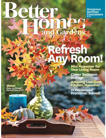 Better Homes and Gardens Magazine October 2013 Eat Your Books