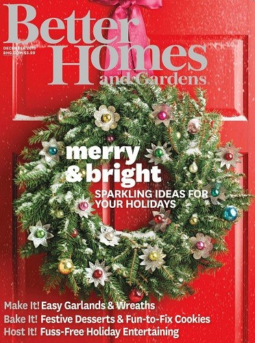 Better Homes and Gardens Magazine, December 2013