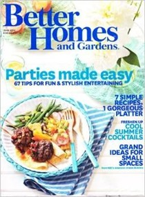 Better Homes and Gardens Magazine, June 2014