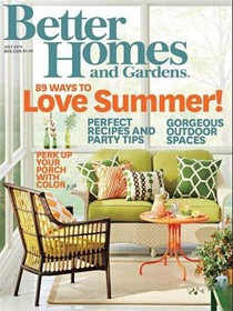 Better Homes and Gardens Magazine, July 2014
