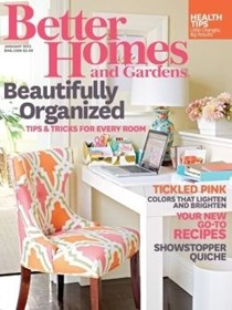 Better Homes and Gardens Magazine, January 2015