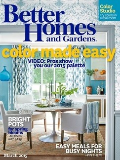 Better homes and gardens magazine march 2015 eat your books March better homes and gardens