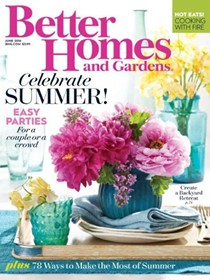 Better Homes and Gardens Magazine, June 2016