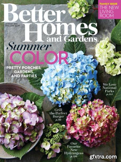 Better Homes And Gardens Magazine August 2016 The Family