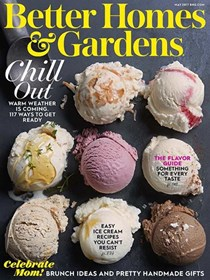 Better Homes and Gardens Magazine, May 2017