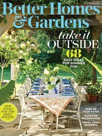 Better Homes and Gardens Magazine, June 2017
