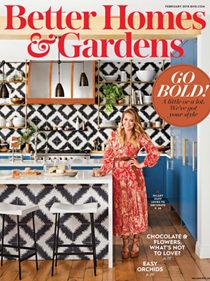 Better Homes and Gardens Magazine, February 2018