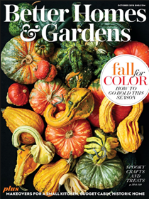 Better Homes and Gardens Magazine, October 2018