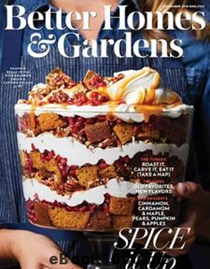 Better Homes and Gardens Magazine, November 2018