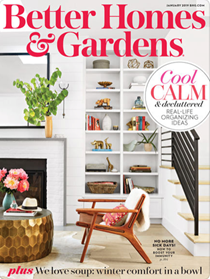 Better Homes and Gardens Magazine, January 2019