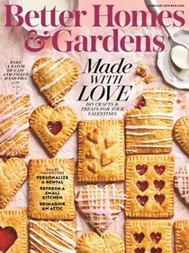 Better Homes and Gardens Magazine, February 2019