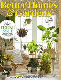 Better Homes and Gardens Magazine, March 2019: The Trend Issue