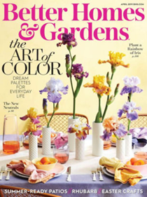 Better Homes and Gardens Magazine, April 2019