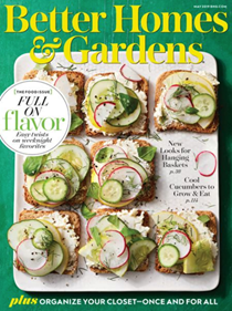 Better Homes and Gardens Magazine, May 2019: The Food Issue