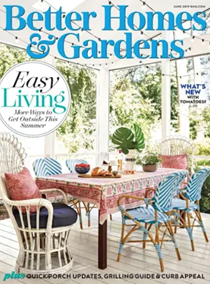 Better Homes and Gardens Magazine, June 2019