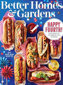 Better Homes and Gardens Magazine, July 2019