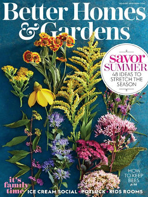 Better Homes and Gardens Magazine, August 2019