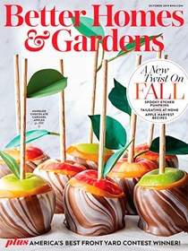Better Homes and Gardens Magazine, October 2019