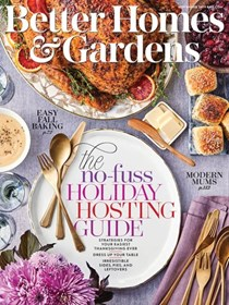 Better Homes and Gardens Magazine, November 2019